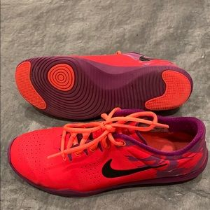 Nike red shoes 7.5